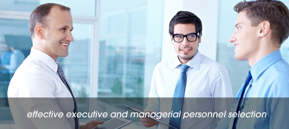 Effective Executive And Managerial Personnel Selection